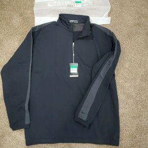 New mens Nike Dri Fit Half Zip Golf Jacket XL